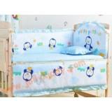 เตียงนอนเด็ก เตียงผลิตจากไม้สนนิวซีแลนด์ เบาะกันกระแทกลายมีให้เลือกได้ ปรับเป็นโต๊ะ ปรับเป็นเปลไกวได้