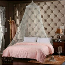 มุ้งกลมบาหลี มุ้งกระโจม ผลิตจากผ้าไนล่อนอย่างดี▶ คลุมเตียงได้ถึง 5 -6 ฟุต▶ ใช้ได้ทั้งเตียงผู้ใหญ่ เตียงเด็ก เปล ที่นอนเด็ก▶ มีสีขาว สี