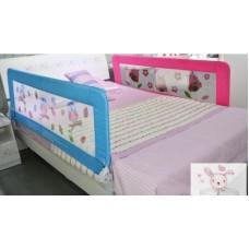 skip hop ที่กั้นเตียงเด็กสีชมพู ส่งฟรี